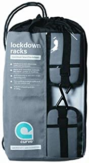 SUP Soft Rack LOCKDOWN SUP Racks - Premium Stand Up Paddle Board Car Racks by Curve (set of 2)