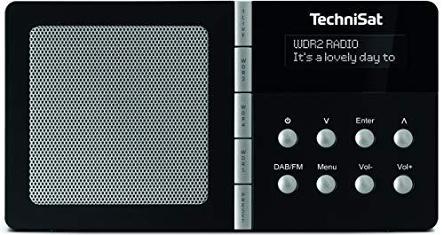 TechniSat TechniRadio 1 NRW-Edition tragbares Radio (DAB+, UKW, Radiowecker, 4 Direktwahltasten, Favoritenspeicher, Kopfhöreranschluss)