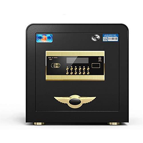 XHMCDZ Huella Digital Caja de Seguridad del Ministerio del Interior Documento Rectángulo del Bloqueo de Seguridad de Acero sólido Hotel de Negocios Pequeño Dinero