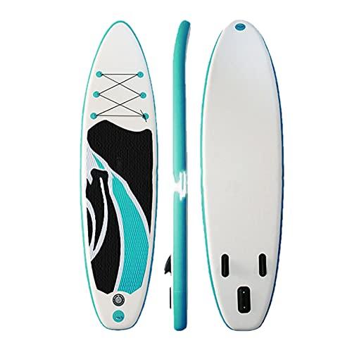 Tabla de Paleta Tabla de Surf All-Around Vertical Paddle Surfing Tabla de Paleta Inflable portátil-320×76×15cm