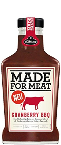 Kuhne(キューネ) MADE FOR MEAT『Cranberry BBQ(クランベリーバーベキュー)』