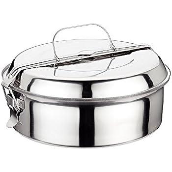 Fiambrera de 1 litro con dos secciones Mintie Duo banda de silicona y bolsa de almuerzo de algod/ón peque/ña salsa Fiambrera de acero inoxidable