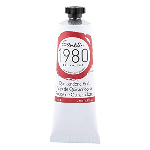 Gamblin 1980 Oil Quin Red 37Ml