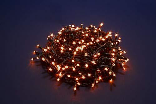 Nataluna 300 Luci LED con 8 Giochi di Luce - Bianco Caldo - Uso Interno