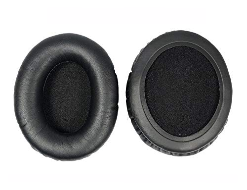 Replacement Earpads, Ear Pad Leather Cushion Repair Parts for Sony MDR-ZX770bn MDR-ZX780BN MDR-ZX770bt ZX770DC MDR-ZX780DC Headphones Earmuffs - (Color: for Black)
