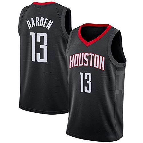 QKJD NBA Baloncesto Uniformes Camiseta NBA la Temporada 19-20 Westbrook Rockets # 0 Camiseta Westbrook Camiseta Swingman Transpirable Que Absorbe el Sudor H-XL