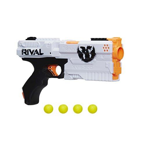 Hasbro Nerf Rival Kronos XVIII 500 Spring-Action Blaster | White
