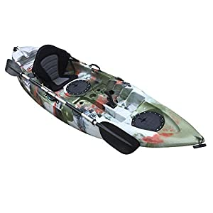 Cambridge Kayaks Unisex's Single sit on top Kayak, Jungle, 280cm Long