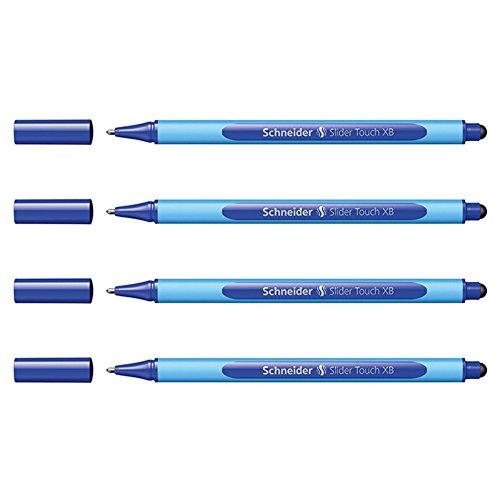 Schneider Slider Touch XB 4er-Set blau