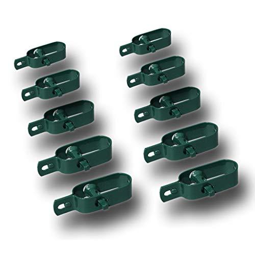 Drahtspanner Gr. 1 grün für Spanndrähte bis Ø 3,1mm, 10er Set