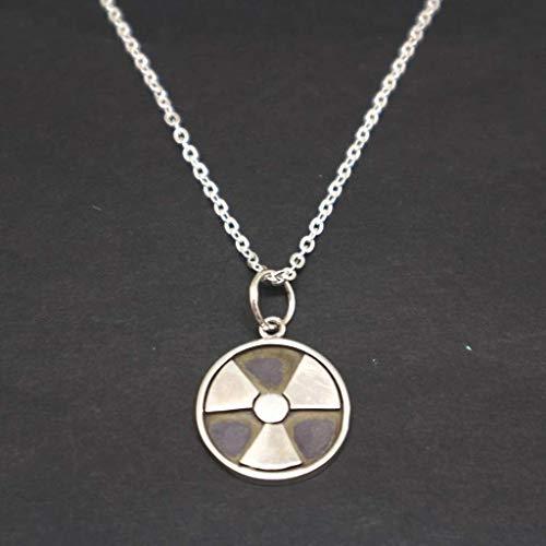 Handmade Sterling Radiology Necklace