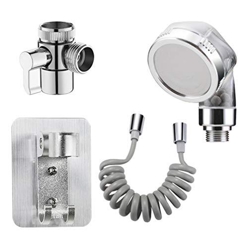 Cabilock - Accesorio de pulverizador de manguera de fregadero para ducha de mano, extensión de grifo de ducha de mano, 1,5 m de repuesto para el lavado del cabello, lavandería