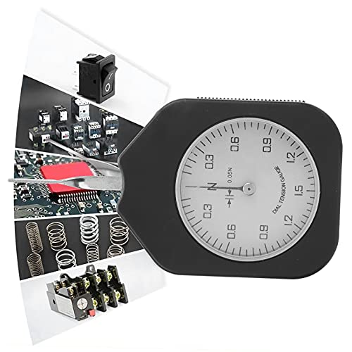 Medidor de tensión, medidor de tensión de dial Sen-1.5-1 de Mano de una Sola Aguja para presión de Punta de relé para Interruptor electrónico