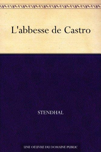 L'abbesse de Castro PDF Books