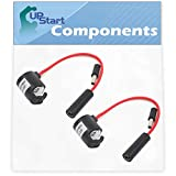 2-Pack 297216600 Freezer Defrost Thermostat Replacement for Kenmore/Sears 253.44733102 Refrigerator - Compatible with 216731000 Defrost Thermostat