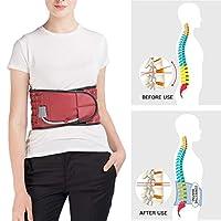 坐骨神経痛、椎間板損傷および椎弓切除術または脊椎固定術術後の脊椎減圧バックブレース,S