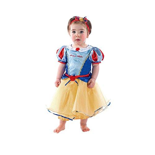 Disney Princesas princesa de la nieve Disfraz bebé, color (blau und gelb), 3 meses (Travis Designs DCPRSW03)