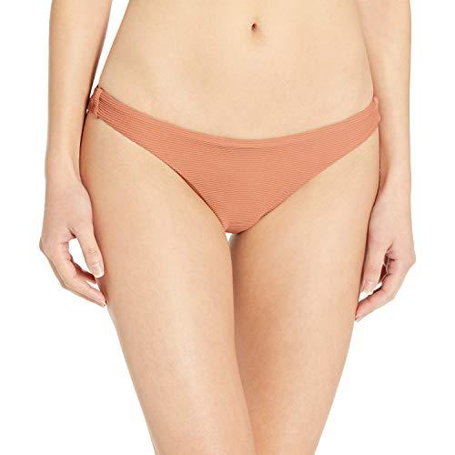 BILLABONG Damen Tanga Bikini Bottom Bikinihose, Kakaofarben, Medium