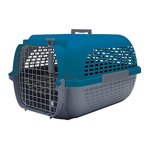 Dogit Catit Sac de Transport pour Animaux de Compagnie Gris et Bleu Taille S 48 x 32 x 28 cm