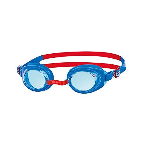 Zoggs Ripper Junior Gafas de natación, Infantil, Azul, Rojo, Tinte, 6-14 años