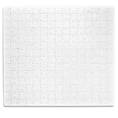 Kopierladen Karnath GmbH Puzzle Bianco da Personalizzare - 210 Pezzi, 303 x 273 mm - Puzzle Bianco per dipingere, disegnare e Decorare