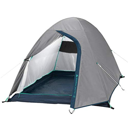 Quechua Camping Tent 2 for 2 People Camping Hiking Space Garden Sleepovers Camping Warm Lightweight 2.4 kg Portable