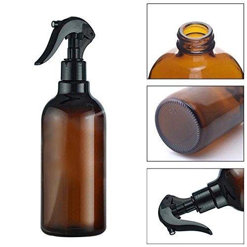 TankMR Flacons vaporisateurs vides de 500 ml en plastique avec gâchette pour huiles essentielles, produits de nettoyage, produits ménagers et aromathérapie