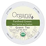 Organa Fine USDA Organic Gourmet Tea Single Serve Pods (2.0) (Panfired Green Tea, 24 Count Box)