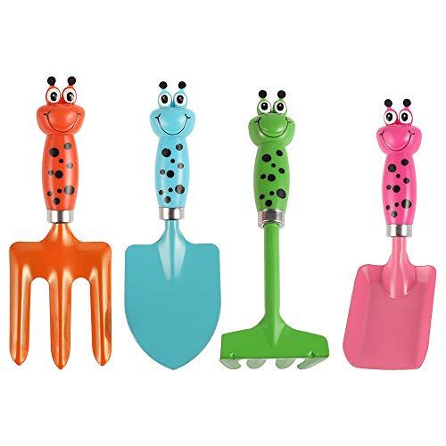 Your's Bath Kinder Gartengeräte Set,Qualitäts-Sandspielzeug, Mini Gartenpflanzen Sets für Spielen an...