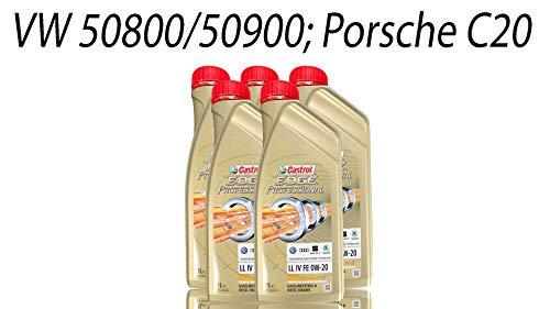 Motoröl für den Ölwechsel am VW Tiguan II - Castrol Edge Professional LL IV 0W20