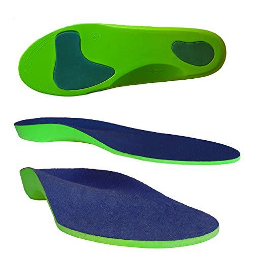 Columbia-Island Orthopädische Einlegesohle/Schuhsohlen/Schuheinlage Größe XS 35-38 Sport-Einlegesohlen Einlagen - Fersen - Fußballen Unterstützung Arbeitsschuhe