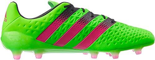 adidas Herren ACE 16.1 FG/AG Fußballschuhe, Grün (Solar Green/Shock Pink/Core Black), 42 2/3 EU