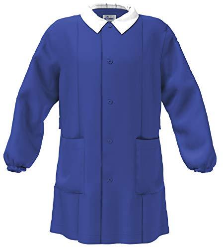 siggi GREMBIULE SCUOLA MASCHIO COLORE BLUETTE (12 anni-152 cm)