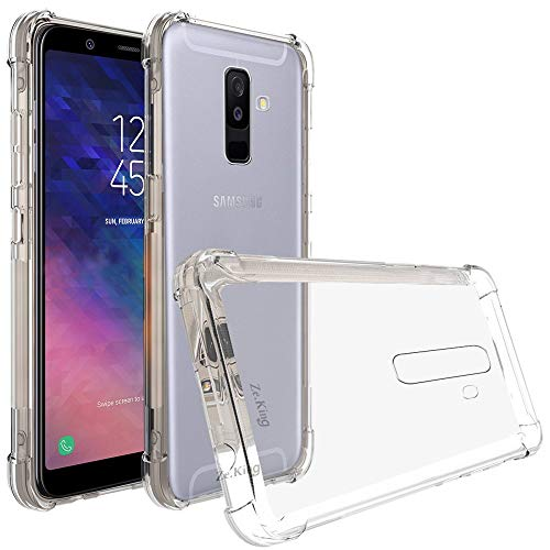 Capinha Silicone Transparente Antichoque Samsung A6 Plus A605GN
