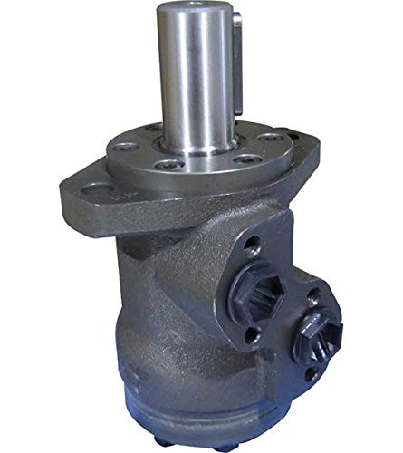 Hydraulikmotor M+S MP_CB, Schluckvolumen wählbar von 25 cm3/U – 630 cm3/U, Anschlüsse (seitlich): G 1/2'', Welle: Ø 32 mm zylindrisch Größe 400 ccm