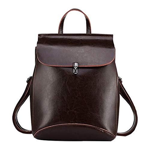 TwoCC Reiserucksack Lederhandtasche Umhängetasche Fashion Casual Ladies Bag