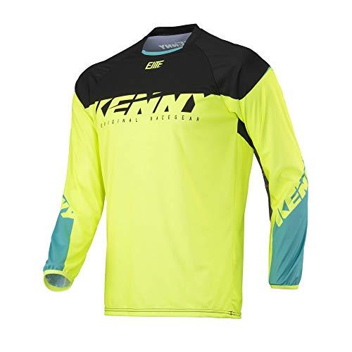 KENNY Elite Mountainbike-shirt Neon Yellow