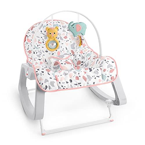 Fisher Price Fisher-price Baby Silla Mecedora Descanso Rosa Para Bebés En Etapa De Desarrollo, Rojo, Paquete De 1 Count