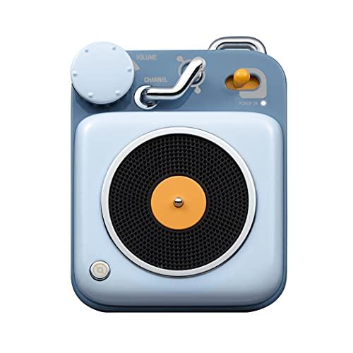 Altavoz Bluetooth MUZEN Button Altavoz Inalámbraca Bluetooth Speaker Vintage con Estilo Clásico...