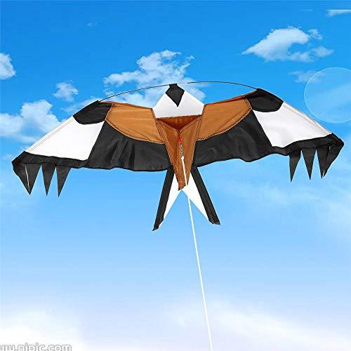 Cometas y Juguetes Voladores Animales de la Forma de Nylon Regalos Cometa Juguete Que vuelan el halcón Cometa al Aire Libre for niños Resistente al desgarro para los Niños y Audlts