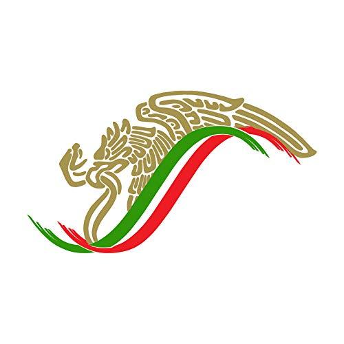 Mexican Eagle Flag Sticker Decal Mexico Aguila Mexicana Calcomania