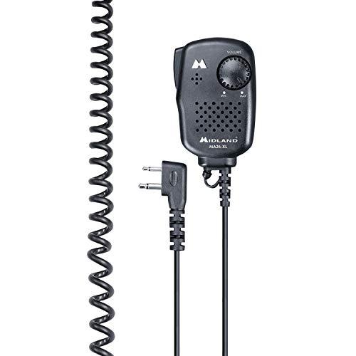 Mikrofon/Lautsprecher, 2-poliger L-STECKER - MA26-XL - MIDLAND C515.05