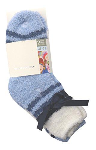 Sockswear KIDS Kuschel-Socke im Doppelpack blau 35-38