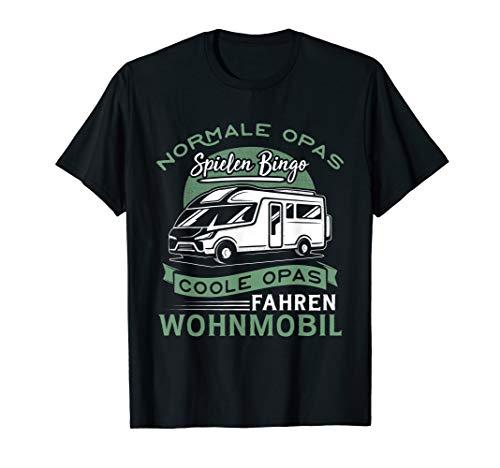 Herren Coole Opas fahren Wohnmobil - Camping & Camper T-Shirt