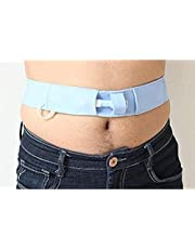 Titular de una sonda gástrica, Cinturones de protección abdominal Diálisis lavable abdominal Tubos de Alimentación for hombres y mujeres reutilizables gastrostomía tubos protectores de cinturón 6.28