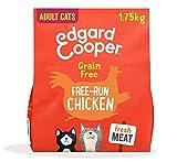 Edgard & Cooper Cibo Secco per Gatti Adulti con Carne Fresca di Pollo Crocchette Senza Cereali 1.75kg, Alimento Naturale Completo per Gatti Sterilizzati, Confezione Biodegradabile