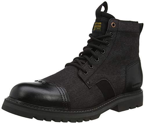 G-STAR RAW Herren Strek Ankle Boot, Black 9239-990, 41 EU