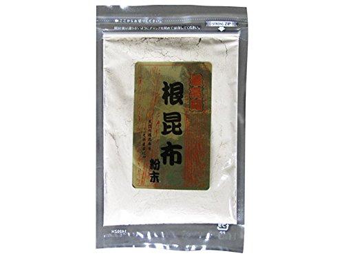 最高級 根昆布粉末 100g (ねこあし根昆布粉末) 強い粘りとまろやかな甘みが特徴の猫足昆布を粉末にしました 水に溶かすだけでネコ足根こんぶ水が出来ます