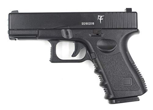 Saigo Airsoft-Pistole G17 mit Feder, Material: Metall, manuelle Aufladung, Leistung: 0,5 Joule