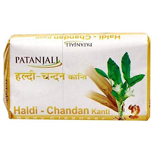 Baba Ramdev - Patanjali Haldi Chandan Body Soap